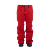 Cappel Wasted Womens Snowboard Pants, Red Copper Wool, medium