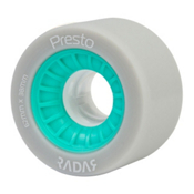 Radar Presto 62 - 8 Pack Roller Skate Wheels, Highlighter Turquoise, medium