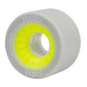 Radar Presto 62 Roller Skate Wheels, Highlighter Yellow, medium