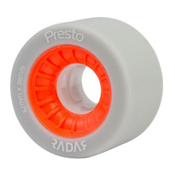 Radar Presto 62 Roller Skate Wheels, Highlighter Red Orange, medium