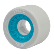 Radar Presto 62 - 8 Pack Roller Skate Wheels, Highlighter Blue, medium