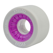 Radar Presto 62 - 8 Pack Roller Skate Wheels, Highlighter Purple, medium