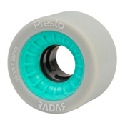 Radar Presto 59 4 Pack Roller Skate Wheels, Highlighter Turquoise, medium