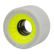 Radar Presto 59 4 Pack Roller Skate Wheels, Highlighter Yellow, medium