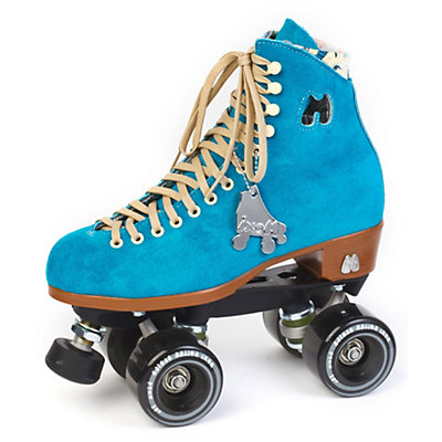 Riedell Moxi Lolly Womens Outdoor Roller Skates, Pool Blue, large