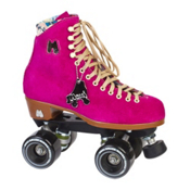 Riedell Moxi Lolly Fuchsia Womens Outdoor Roller Skates, , medium