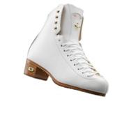 Riedell 75 Gold Star Girls Figure Ice Skates, White, medium
