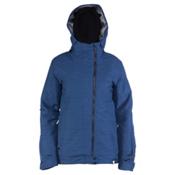 Ride Seward Womens Insulated Snowboard Jacket, Twilight Navy Slub, medium