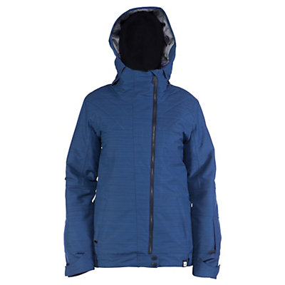 Ride Seward Womens Insulated Snowboard Jacket, Twilight Navy Slub, viewer