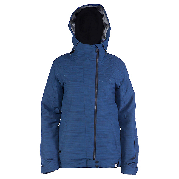 Ride Seward Womens Insulated Snowboard Jacket, Twilight Navy Slub, 600
