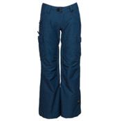 Ride Beacon Womens Snowboard Pants, Twilight Navy Slub, medium