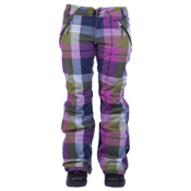 Ride Leschi Womens Snowboard Pants, Twilight Navy Plaid, medium