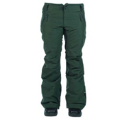 Ride Leschi Womens Snowboard Pants, Dark Pine Slub, medium