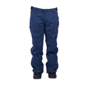 Ride Highland Womens Snowboard Pants, Twilight Navy Herringbone, medium