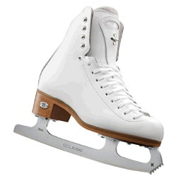Riedell 255 Motion Womens Figure Ice Skates, White, 256