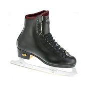 Riedell 255 Motion Mens Figure Ice Skates, Black, medium