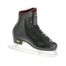 Riedell 255 Motion Mens Figure Ice Skates, Black, 256