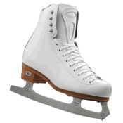 Riedell 223 Stride Womens Figure Ice Skates, White, medium