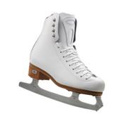 Riedell 23 Stride Girls Figure Ice Skates, White, medium