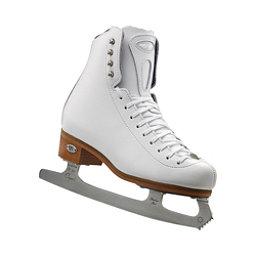 Riedell 23 Stride Girls Figure Ice Skates, White, 256
