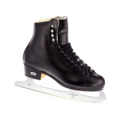 Riedell 133 Diamond Mens Figure Ice Skates, Black, medium