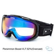 Giro Field Womens Goggles, Black Geo-Persimmon Boost, medium