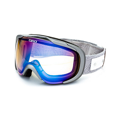 Giro Field Womens Goggles, Black Geo-Persimmon Boost, viewer