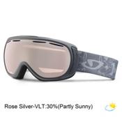 Giro Amulet Womens Goggles, Matte Titanium Porcelain-Rose Silver, medium