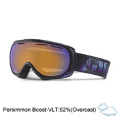 Giro Amulet Womens Goggles, Purple Ginko-Persimmon Boost, medium