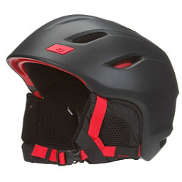 Giro Nine Helmet 2017, Matte Black-Bright Red, 256
