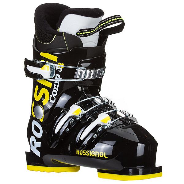 Rossignol Comp J 3 Kids Ski Boots, Black, 600