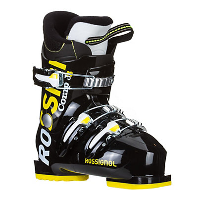 Rossignol Comp J 3 Kids Ski Boots, Black, viewer