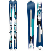 Rossignol Unique 6 Womens Skis with Saphir 110 Bindings 2015, , medium