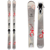 Rossignol Temptation 84 Womens Skis with Saphir 110 Bindings, , medium