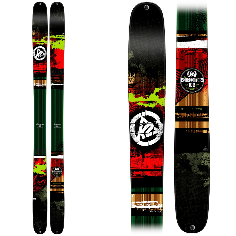 K2 Shreditor 102 Skis