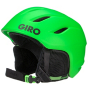 Giro Nine Kids Helmet 2016, Matte Bright Green, medium