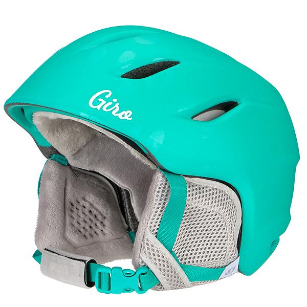Giro Nine Kids Helmet, Matte Turquoise Bubblegum, 600