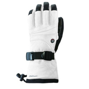 Seirus Heat Touch Ignite Heated Ski Gloves, White, medium