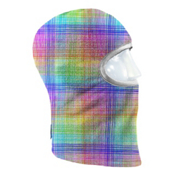 Seirus Prints Kids Balaclava, Skratch Plaid-Multi, medium