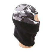 Seirus Balaclava Prints, Camo-Gray-White, medium