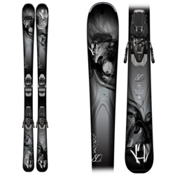 K2 Potion 80 XTi Womens Skis with ERC 11.0 TC Bindings 2015, , medium