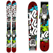 K2 Indy Kids Skis with Marker Fastrak 7.0 Bindings 2015, , medium