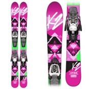 K2 Luv Bug Kids Skis with Marker Fastrack 4.5 Bindings, , medium