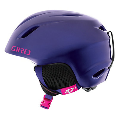 Giro Launch Girls Helmet, Milky Blue Leopard, viewer