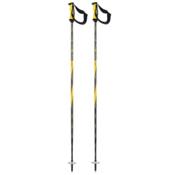 K2 Power 10 Airfoil Ski Poles 2016, Yellow, medium