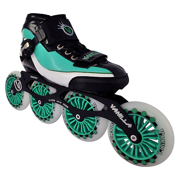 Vanilla Empire Race Inline Skates, Green, 600