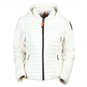 Parajumpers Fly Womens Jacket, White Creme, medium