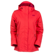 The North Face Inlux Womens Insulated Ski Jacket, Rambutan Pink, medium
