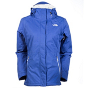 The North Face Inlux Womens Insulated Ski Jacket, Coastline Blue Heather, medium