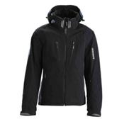 Descente Swiss WC Mens Insulated Ski Jacket, Black-Black, medium